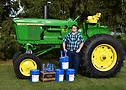 Ryder Lestrud – John Deere 4020 – Restauración de tractores antiguos