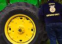Ryder - Estudiante de bachillerato de Iowa y miembro de Future Farmers of America (FFA).