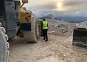 El DumperMaster 35/65 R33 en las minas de Carrara.