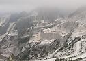 Rampas de las minas de Carrara
