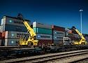 Reach stacker con ContainerMaster+ en Doncaster