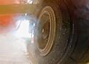 El neumático Continental ContiRV20, en SlideWheel: agarre en mojado.