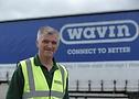 Keith Rowles, instrutor de logística e controlador de MHE da Wavin Plastics