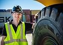 Frederik Elgert, product developer OTR and Material Handling Tires