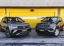 Volta Rápida: VW Taos x Jeep Compass - Foto 1