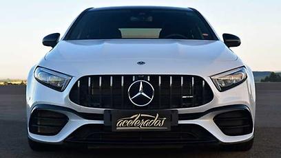 Mercedes A45 AMG - Wallpaper