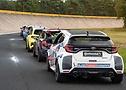 ContiTuningTag 2021: Heckansicht der Klein- und Kompaktwagen, im Focus der Toyota Yaris von HJS