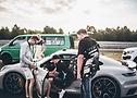 Papenburg 3000 – Crew von 9FF vor einem Porsche 911