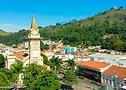 (vista aérea do centro histórico da cidade de Socorro)