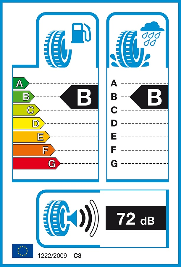 EU Tire Label Truck