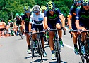 Movistar team on the road (©Movistar Team)