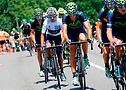 Movistar team on the road (©Movistar Team)