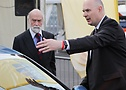 Prince Michael of Kent at #STOPTHECRASH London Motor Show